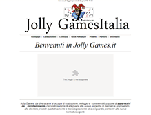 Tablet Preview of jollygamesitalia.it